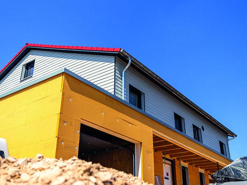 Doppelhaus Ellwangen, Holzbau Schneider